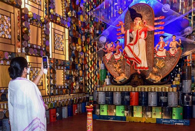 Preparation For Durga Puja 2020