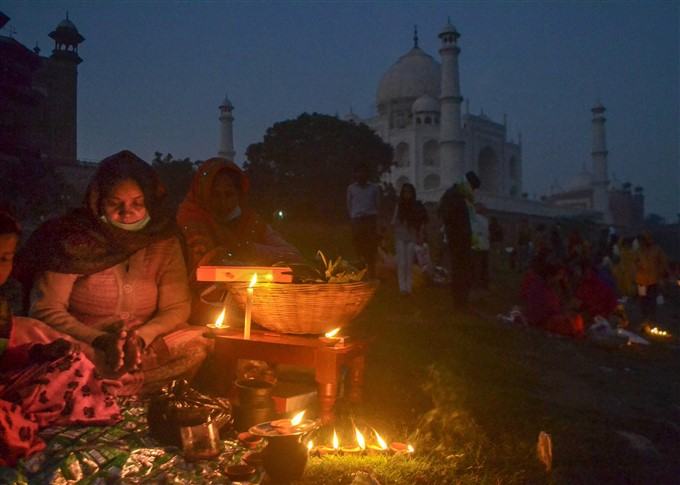 Chhath Pooja Celebration Across India 2020