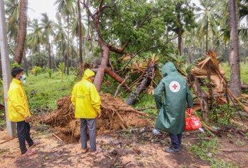 Damages Caused By Cyclone Burevi In Tamil Nadu