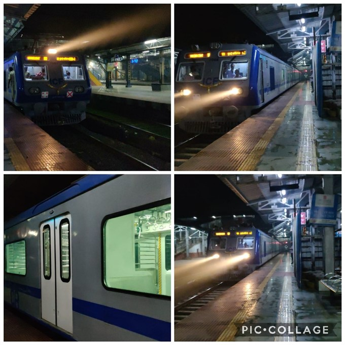 First Air-conditioned Local Train Of The CSMT In Mumbai