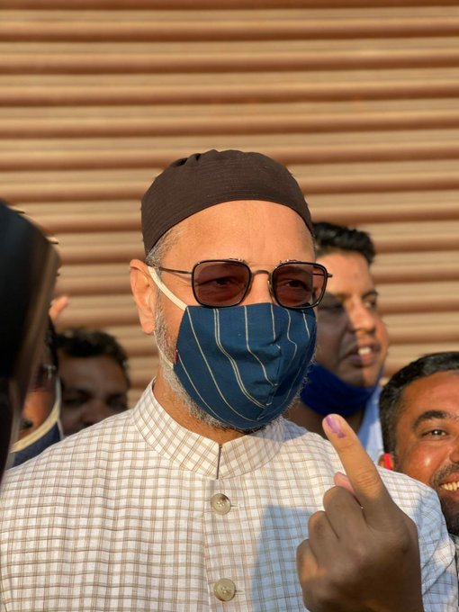 GHMC Elections 2020:Photos Of Several VIPS Casting Their Votes