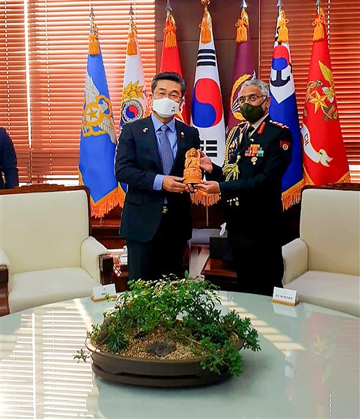 Indian Army Chief General M M Naravane 3 Day Visit To South Korea
