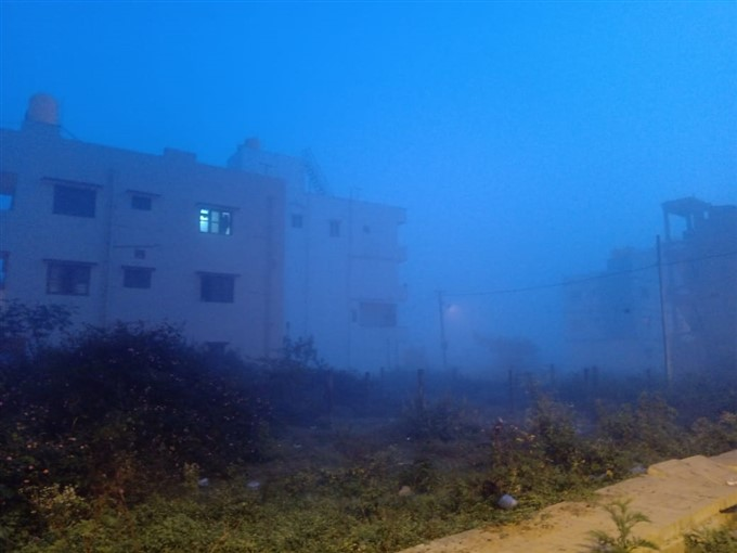 Many Parts Of Bengaluru Covered With Fog