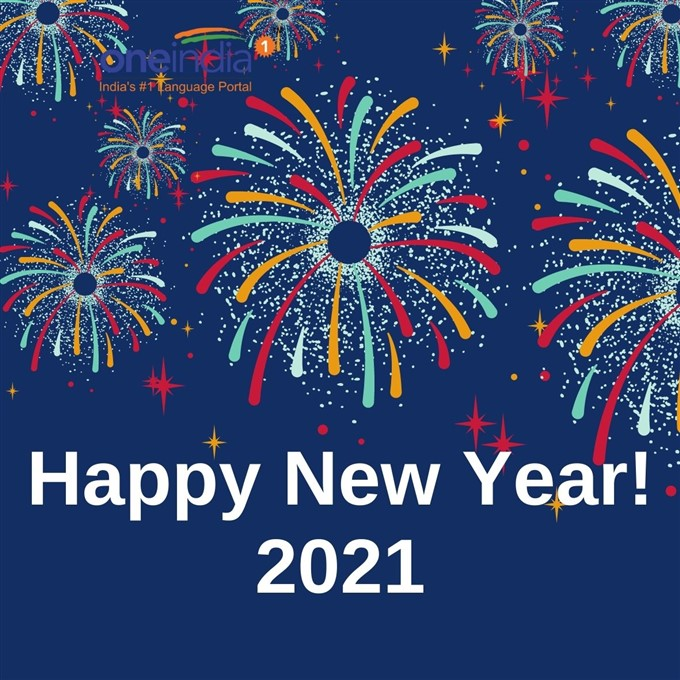 New Year 2021 Wishes Cards