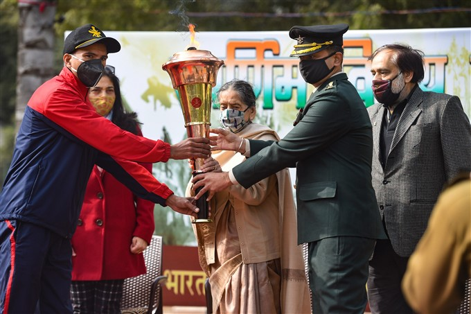 Swarnim Vijay Mashaal On 50th Anniversary Of 1971 Indo-Pak War