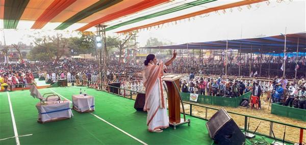 CM Mamata Banerjee Rally In Bangaon
