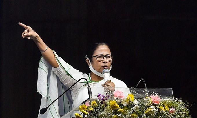 WB CM Mamata Banerjee Inaugurates Majerhat Bridge In Kolkata