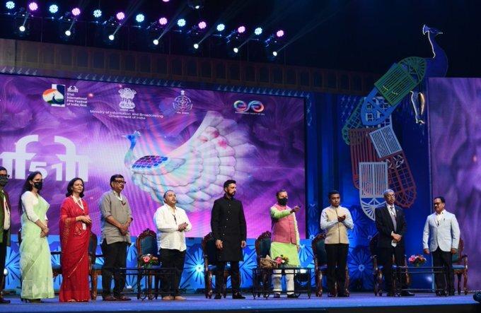 கோவாவில் கோலாகலமாக நடந்த இந்தியாவின் 51வது சர்வதேச திரைப்பட விழா: புகைப்படங்கள்