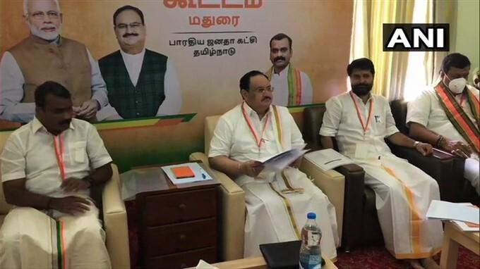 BJP National President JP Nadda 3 Day Visit To Tamil Nadu