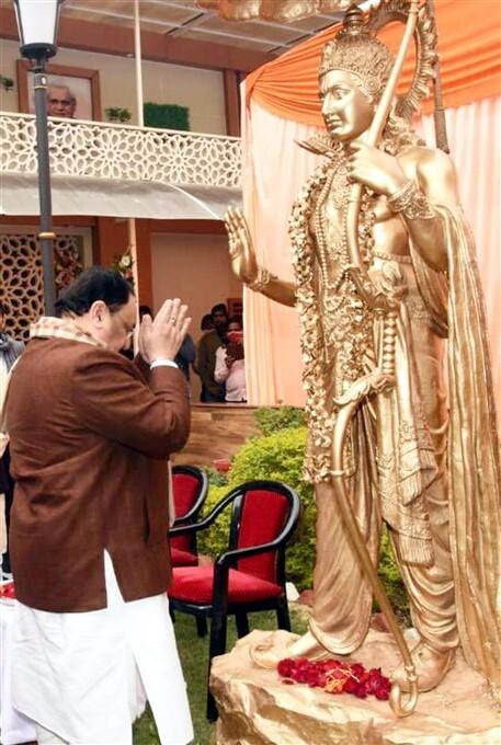 ಚಿತ್ರಗಳು: ಉತ್ತರ ಪ್ರದೇಶಕ್ಕೆ ಬಿಜೆಪಿ ರಾಷ್ಟ್ರೀಯ ಅಧ್ಯಕ್ಷ ಜೆ.ಪಿ.ನಡ್ಡಾ ಭೇಟಿ