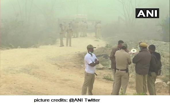 Dynamite Blast In Shivamogga District In Karnataka