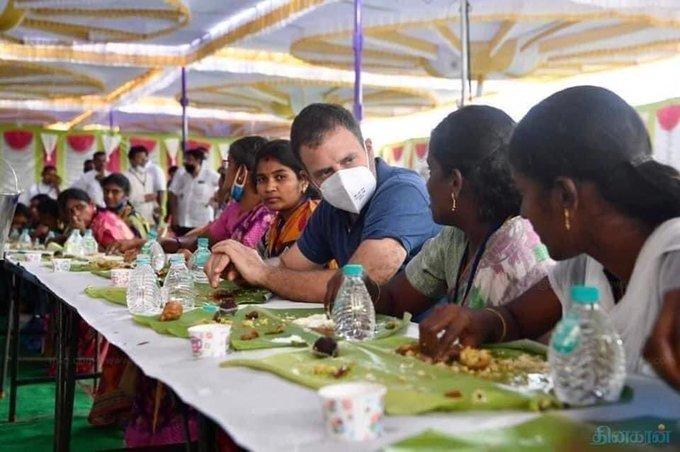 ಚಿತ್ರಗಳು: ಕಾಂಗ್ರೆಸ್ ನಾಯಕ ರಾಹುಲ್ ಗಾಂಧಿ ಅವರು ಮೂರೂ ದಿನಗಳ ತಮಿಳುನಾಡು ಪ್ರವಾಸ