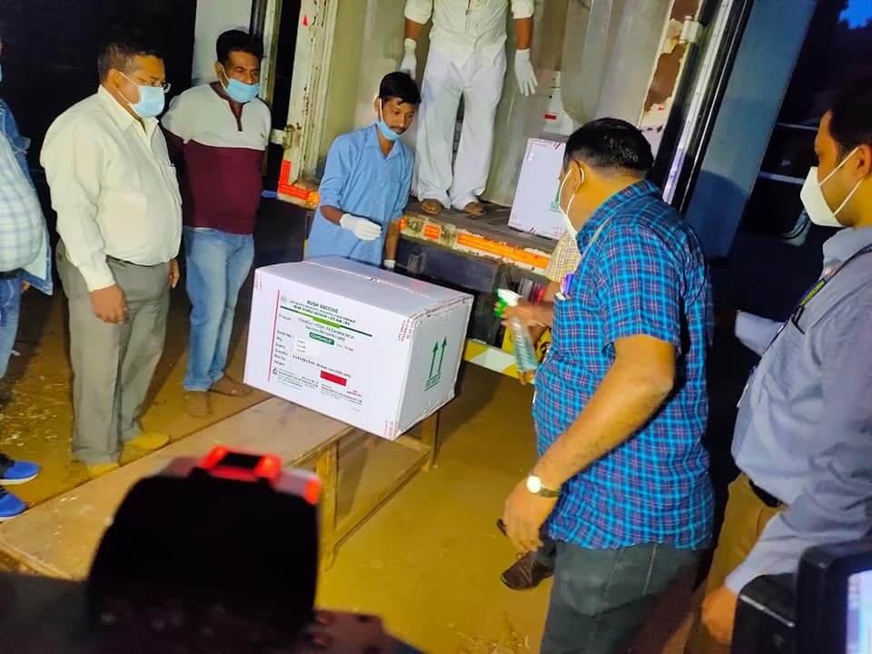 ಚಿತ್ರಗಳು: ಕರ್ನಾಟಕಕ್ಕೆ ಕೊವಿಡ್ 19 ಲಸಿಕೆಗಳ ಆಗಮನ