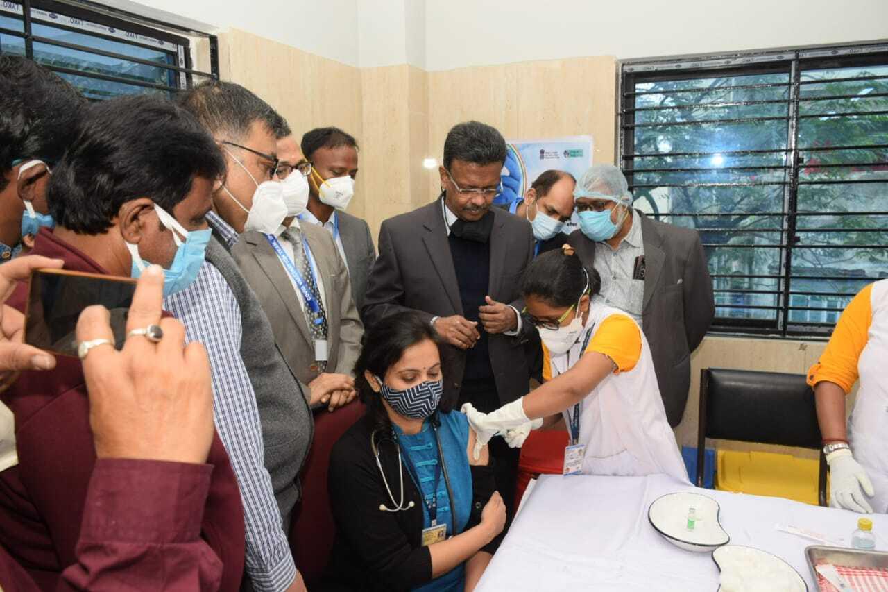 First Day Corona Vaccination Drive In Kolkata