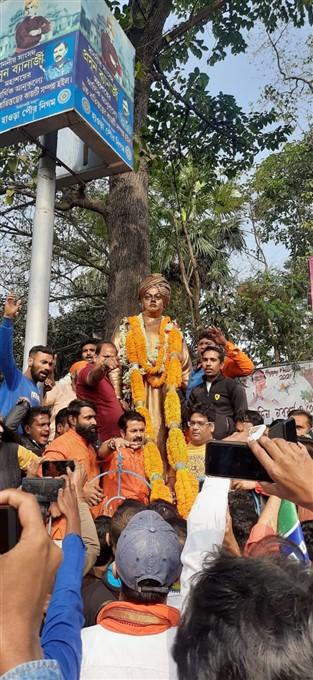 ಚಿತ್ರಗಳು: ಸ್ವಾಮಿ ವಿವೇಕಾನಂದರ 159ನೇ ಜನ್ಮ ದಿನಾಚರಣೆ