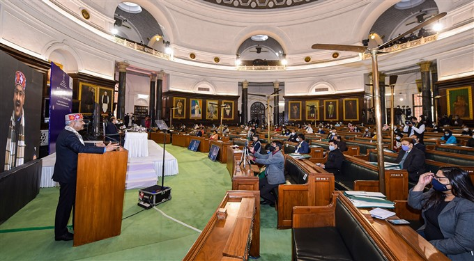 National Youth Parliament Festival-2021 In New Delhi