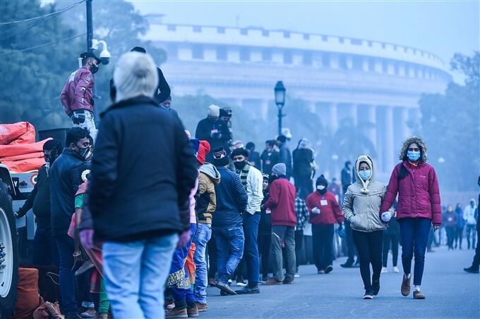 Republic Day Parade Rehearsal In New Delhi, 18/01/2021
