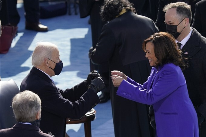 Kamala Harris Sworn In As 49th Vice President Of The United States