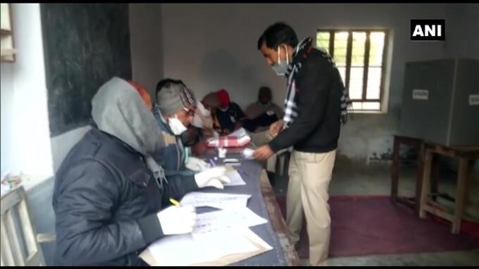 Rajasthan Municipal Election 2021 - Polling