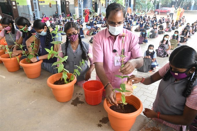 Schools Reopen For Class 10th And 12th In Tamil Nadu