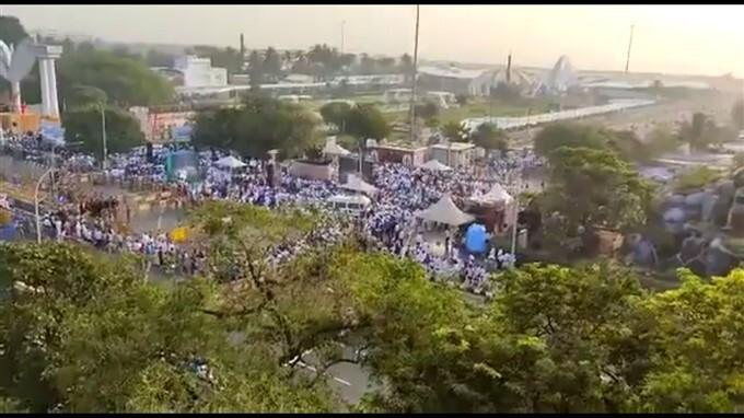 ಚಿತ್ರಗಳು: ತಮಿಳುನಾಡಿನಲ್ಲಿ ಜಯಲಲಿತಾ ಸ್ಮಾರಕ ಅನಾವರಣ