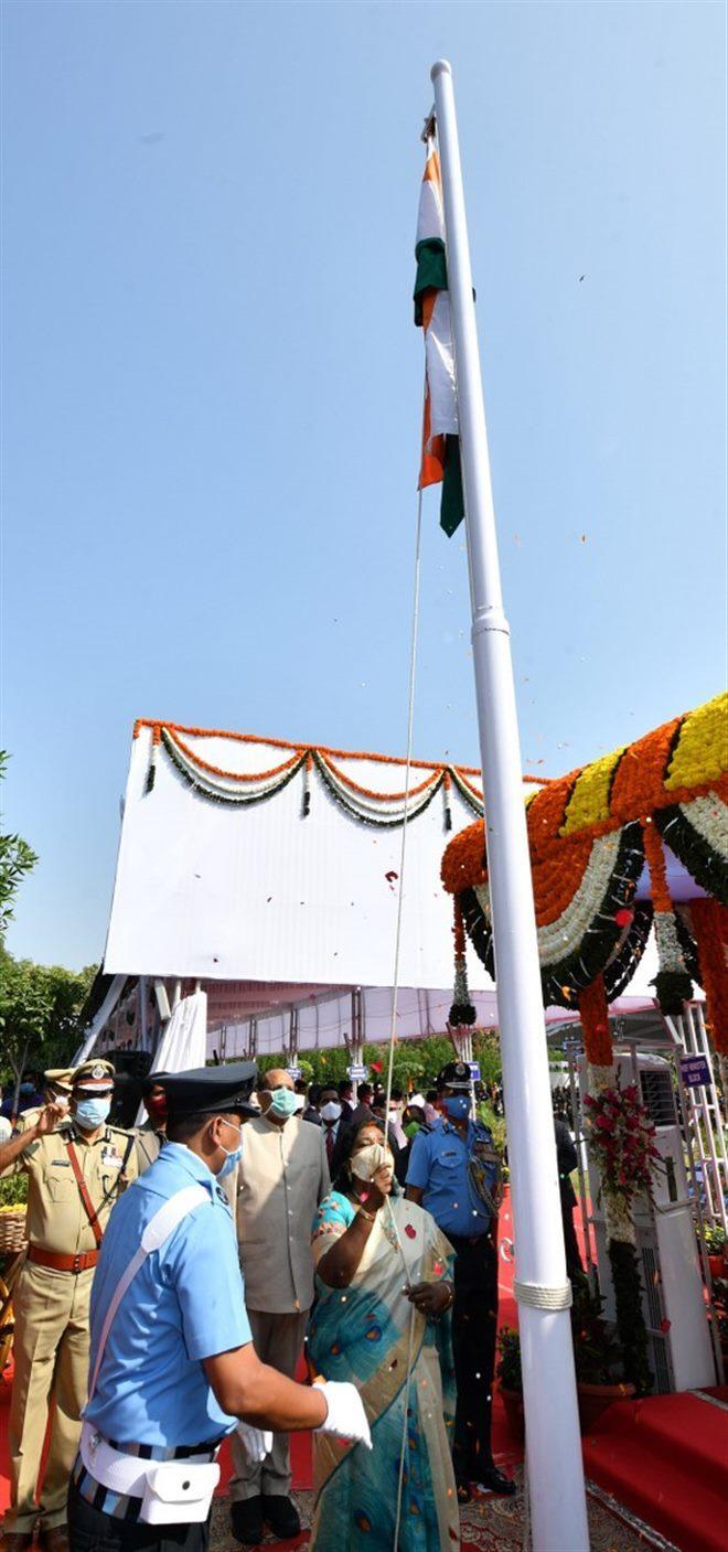 Telangana Republic Day Celebration 2020