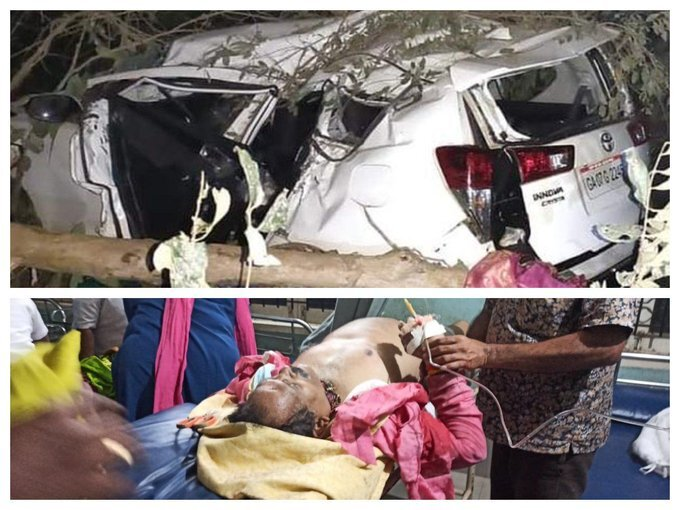 UM Of State For AYUSH Shripad Naik Met With A Road Accident