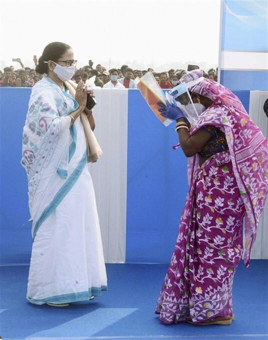 ಪಶ್ಚಿಮ ಬಂಗಾಳ ಚುನಾವಣಾ ಕಣದಲ್ಲಿ ದೀದಿ ರಣಕಹಳೆಯ ಚಿತ್ರಣ