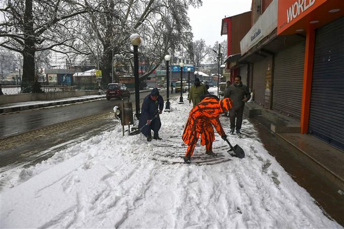 Snowfall In Jammu And Kashmir, Leh And HP, 2020