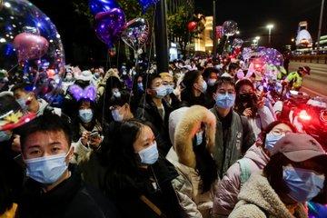 Wuhan City Celebrates New Year 2021
