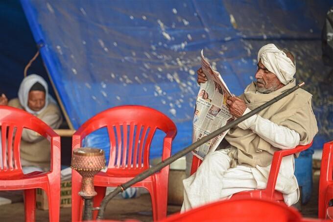 കേന്ദ്രത്തിനെതിരായ സമരം ശക്തമാക്കി കർഷകർ-  ചിത്രങ്ങൾ