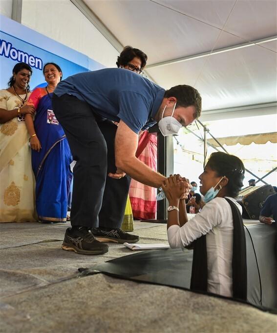 രാഹുല്ഗാന്ധിയുടെ പുതുച്ചേരി സന്ദര്ശനം, ചിത്രങ്ങള്