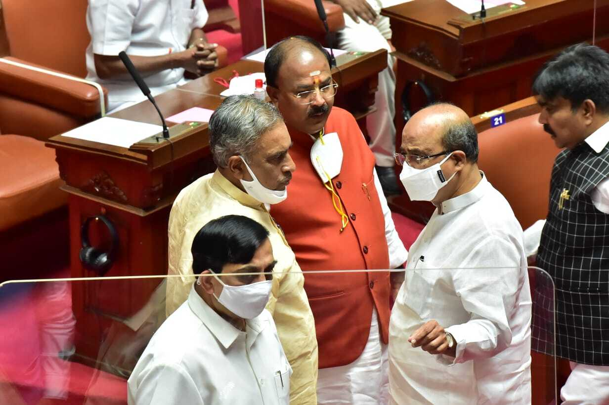 Basavaraj Horatti Elected As Karnataka Legislative Council Chairman