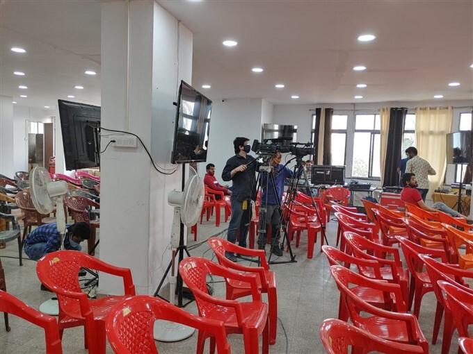ಚಿತ್ರಗಳು : ಕೊಲ್ಕತ್ತಾದಲ್ಲಿ ಚುನಾವಣಾ ಪ್ರಚಾರಕ್ಕೆ ಬಿಜೆಪಿಯ ಸಿದ್ಧತೆ