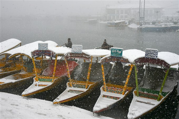 Snowfall In Jammu And Kashmir, Leh, HP And UK
