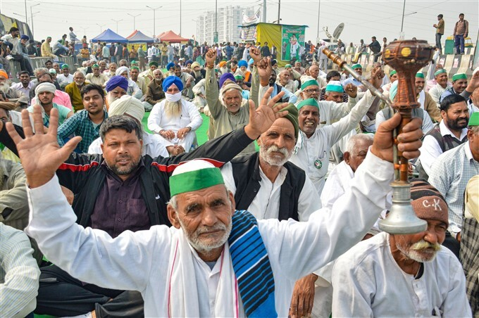 Farmers Protest Against Central Government Over Farm Laws, 13/02/2021