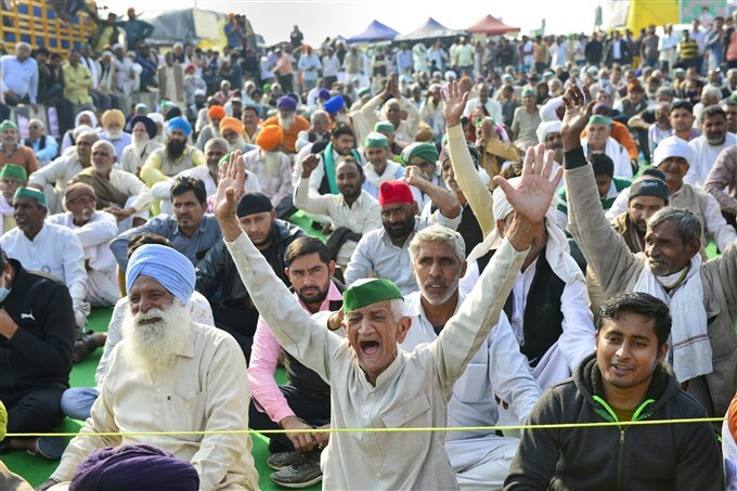 Farmers Protest Against Central Government Over Farm Laws, 09/02/2021