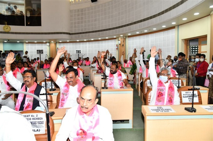 GHMC Corporators Taking Oath In GHMC Office At Hyderabad