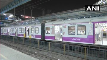 Local Train Services Resume In Mumbai