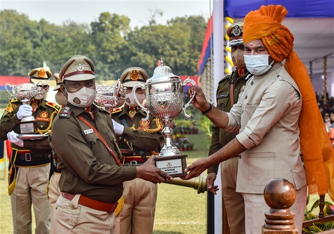 74th Raising Day Parade Of Delhi Police, In Delhi