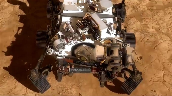 NASA Perseverance Rover Has Landed On Mars Surface
