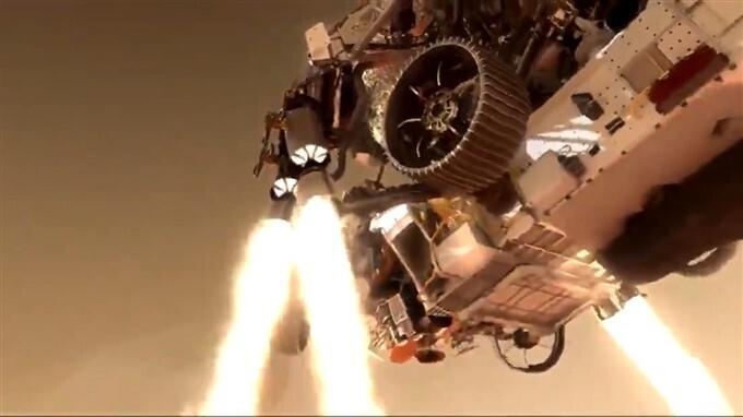 मंगल ग्रह पर उतरा नासा का प्रिसर्वरेंस रोवर