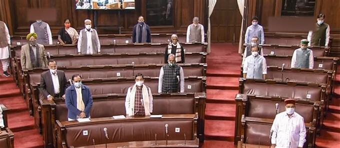 ಚಿತ್ರಗಳು: ಸಂಸತ್ ಬಜೆಟ್ ಅಧಿವೇಶನ