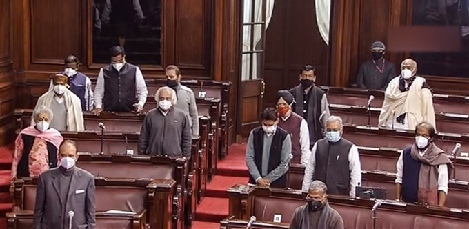 Budget Session Of Parliament, In New Delhi