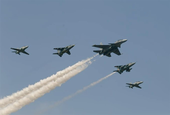 Rehearsal For Aero India Show 2021 In Bengaluru