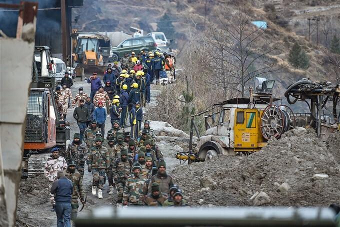 Uttarakhand Glacier: Rescue Operations Underway In Chamoli, 09/02/2021