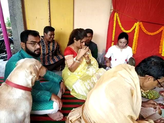 Saraswati Puja Celebrated At Singer Imon Chakraborty's Home