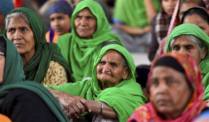 Farmers Protest Against Central Govt Over Farm Laws In Delhi, 02/02/2021