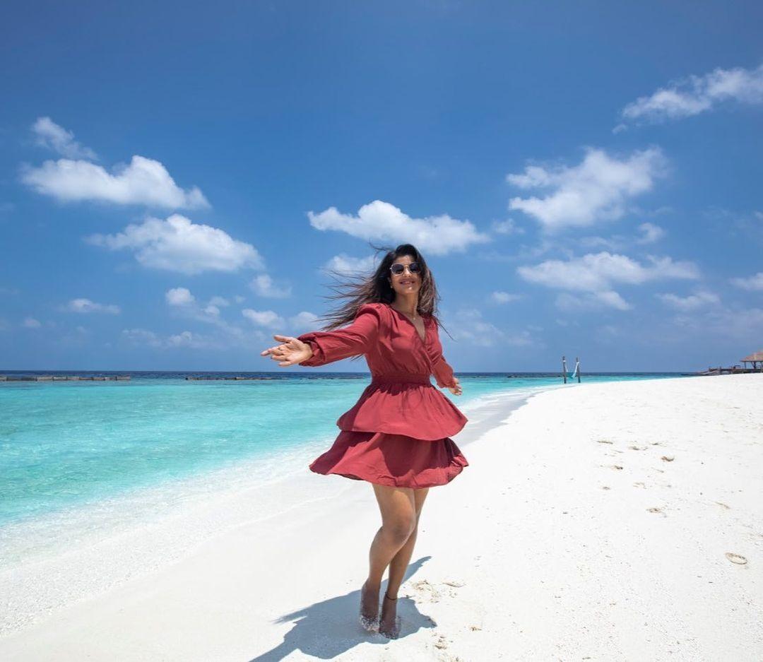 மாலத்தீவில் ஐஸ்வர்யா ராஜேஷின் மார்க்கமான போட்டோஸ்