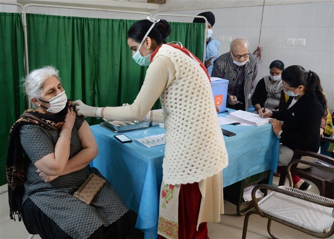 2nd Phase Of COVID-19 Vaccination Across India, 03/03/2021